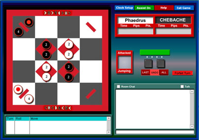 Strategy Game Chebache - Online